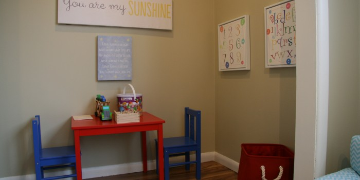 Calgary Naturopathic Pediatric Treatment Room