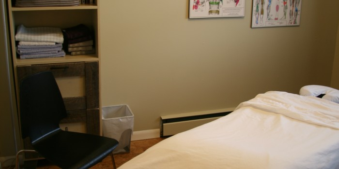 Marda Loop Massage Treatement Room